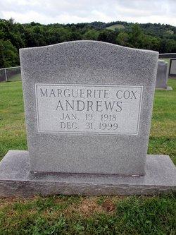 Marguerite <i>Cox</i> Andrews