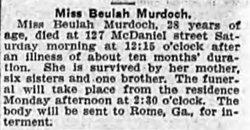 Beulah Elizabeth Murdoch