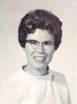 Dr Madeline Ashburn <i>Vinson</i> Currie