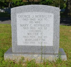 Mary C. <i>Dreyer</i> Hofbauer