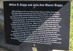 Milton H Boggs