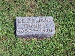 Eliza Jane <i>Lane</i> Bagby
