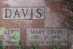 Mary Ervin Davis