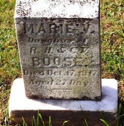 Marie V Boose