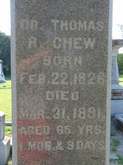 Dr Thomas Reynolds Chew