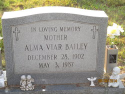 Alma Virginia <i>Maddox</i> Bailey