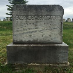 Annie M. <i>Hayes</i> Campbell