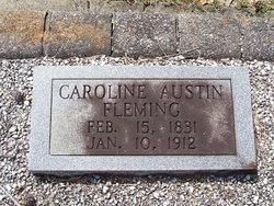 Rosa Caroline Carrie <i>Austin</i> Fleming
