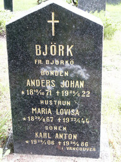 Maria Lovisa Bj�rk