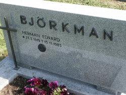 Herman Edvard Bj�rkman