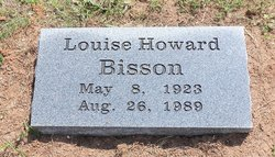 Louise <i>Howard</i> Bisson