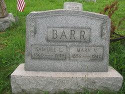 Mary V <i>VanHorn</i> Barr