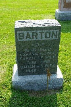 Sarah Ann <i>Bickford</i> Barton