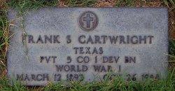 Frank S Cartwright