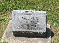Caroline W. Hebenstreit