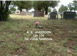 A. R. Anderson