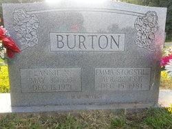 Emma <i>Stocstill</i> Burton