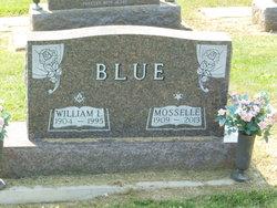Frances Mosselle <i>Throckmorton</i> Blue