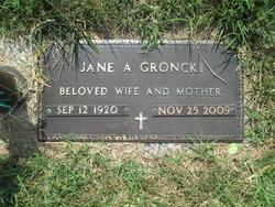 Jane A <i>Sobotka</i> Groncki