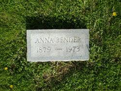 Anna <i>Miller</i> Bender