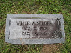 Willie Arthur Wilder