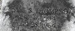 Mattie B Thompson