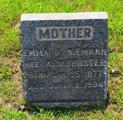 Emma J. <i>Armbruster</i> Niemann