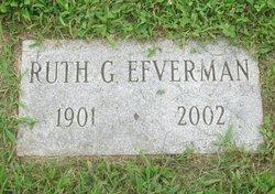 Ruth C. <i>Gates</i> Efverman
