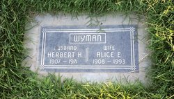 Alice E Wyman
