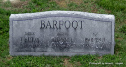 Warren Hutchinson Barfoot