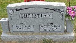 Dorothy Carolyn <i>Joyce</i> Christian
