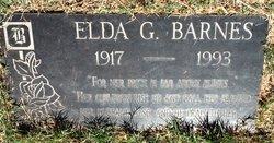 Elda Effie <i>Glover</i> Barnes
