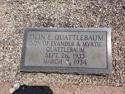 Olin E Quattlebaum