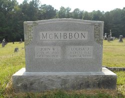 Louisa J <i>Camp</i> McKibbon