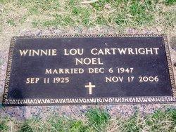 Winnie Lou <i>Cartwright</i> Noel
