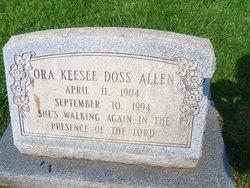 Ora Keesee <i>Doss</i> Allen