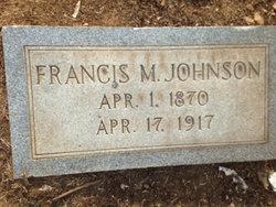 Francis Marion Johnson