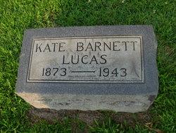 Kate <i>Barnett</i> Lucas