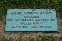 PFC James Hervey Rentz