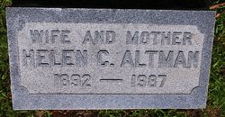 Helen C Altman