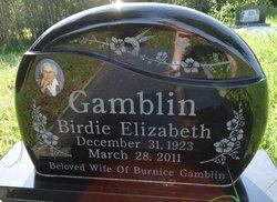 Birdie Elizabeth <i>Blakeman</i> Gamblin