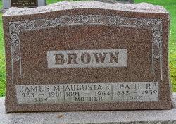 Augusta Gussie Brown
