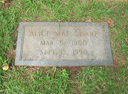 Alice Mae <i>Ellington</i> Sharp
