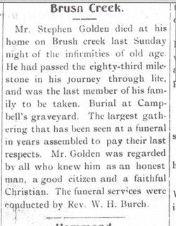 Stephen Golden, Jr