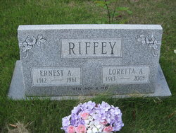 Loretta A Riffey