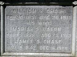 Mariah S <i>Eaton</i> Chase