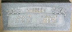 Pearl Mansur Shibley