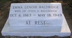 Emma Lenoir Baldridge