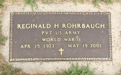Reginald H Reggie Rohrbaugh