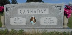 Mary Ada <i>Anderson</i> Cannaday